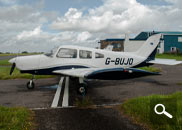 Piper Warrior PA28 G-BUJO