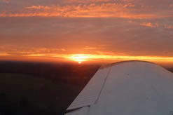 Sunset at Biggin Hill